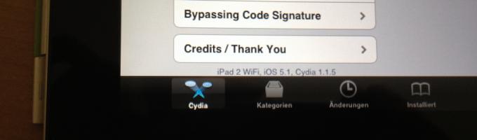 Джейлбрейк iPad 2