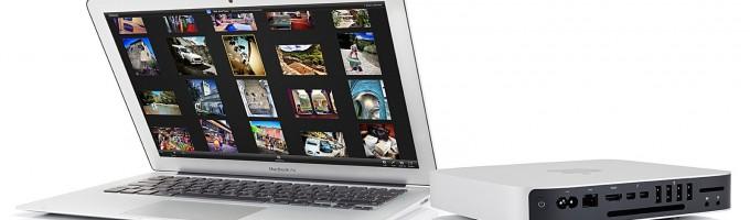 MacBook Air и Mac mini