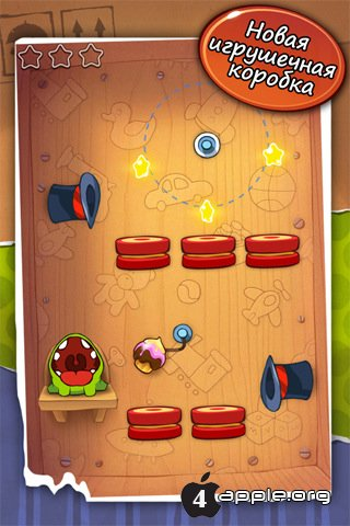 Cut The Rope для IPhone, IPod Touch и IPad