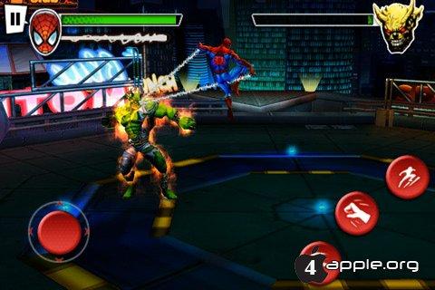 Spider-Man: Total Mayhem для iPhone, iPad и iPod Touch