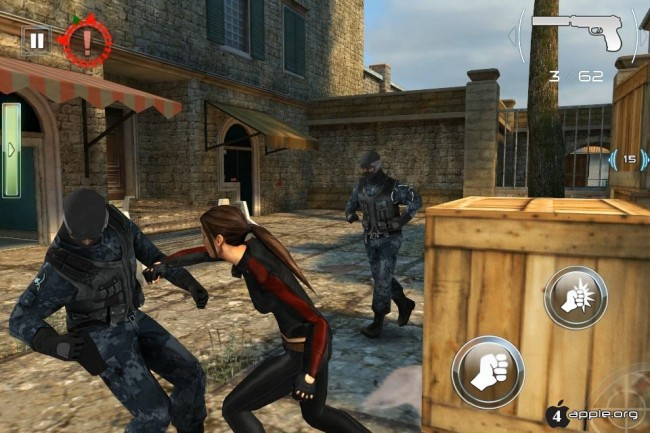 Silent Ops для iPhone, iPad и iPod Touch