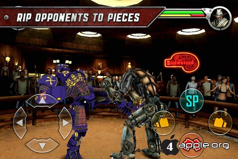 Real Steel - роботофайтинг для iPhone, iPad и iPod Touch