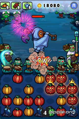 Pumpkins vs. Monsters - ещё одно vs на iPhone