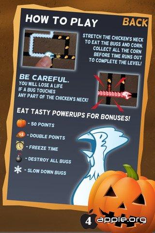 Ghost Chicken - призрокурица для iPhone, iPad и iPod Touch