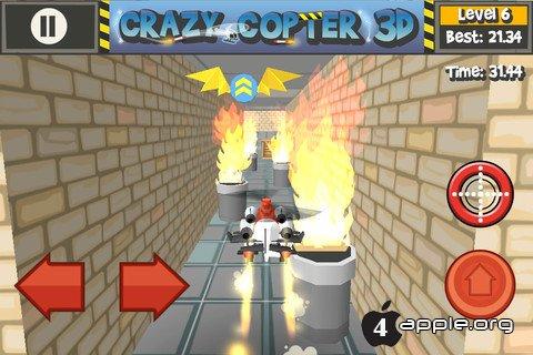 Paper Glider Crazy Copter 3D для iУстройств