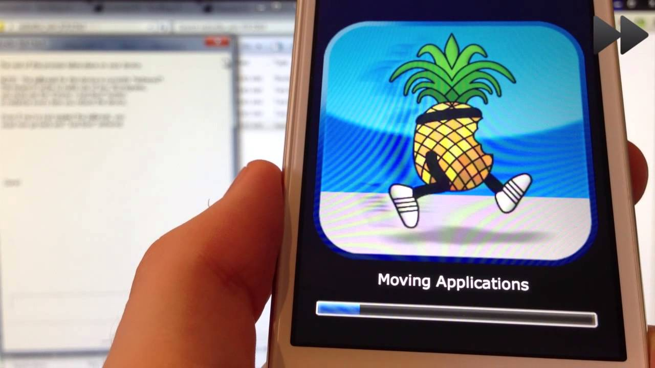 Jailbreak iOS 5 через Redsn0w