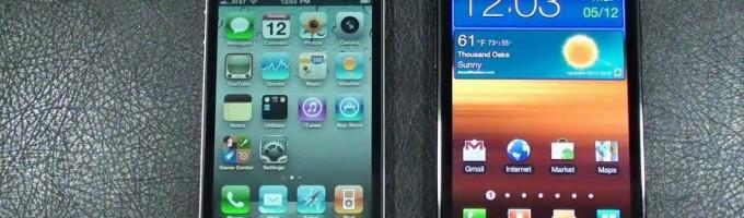 Сравнение iPhone 4S и Samsung Galaxy SII