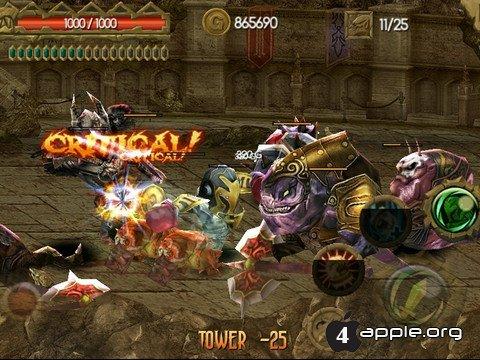 Игра Lord of Darkness - мини-властелинчик тьмы в смартфоне