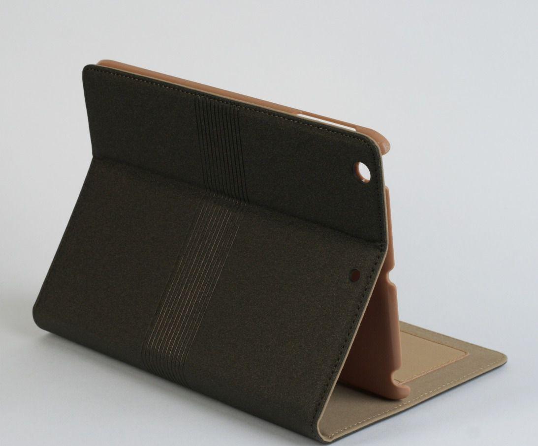Коричневый чехол для iPad