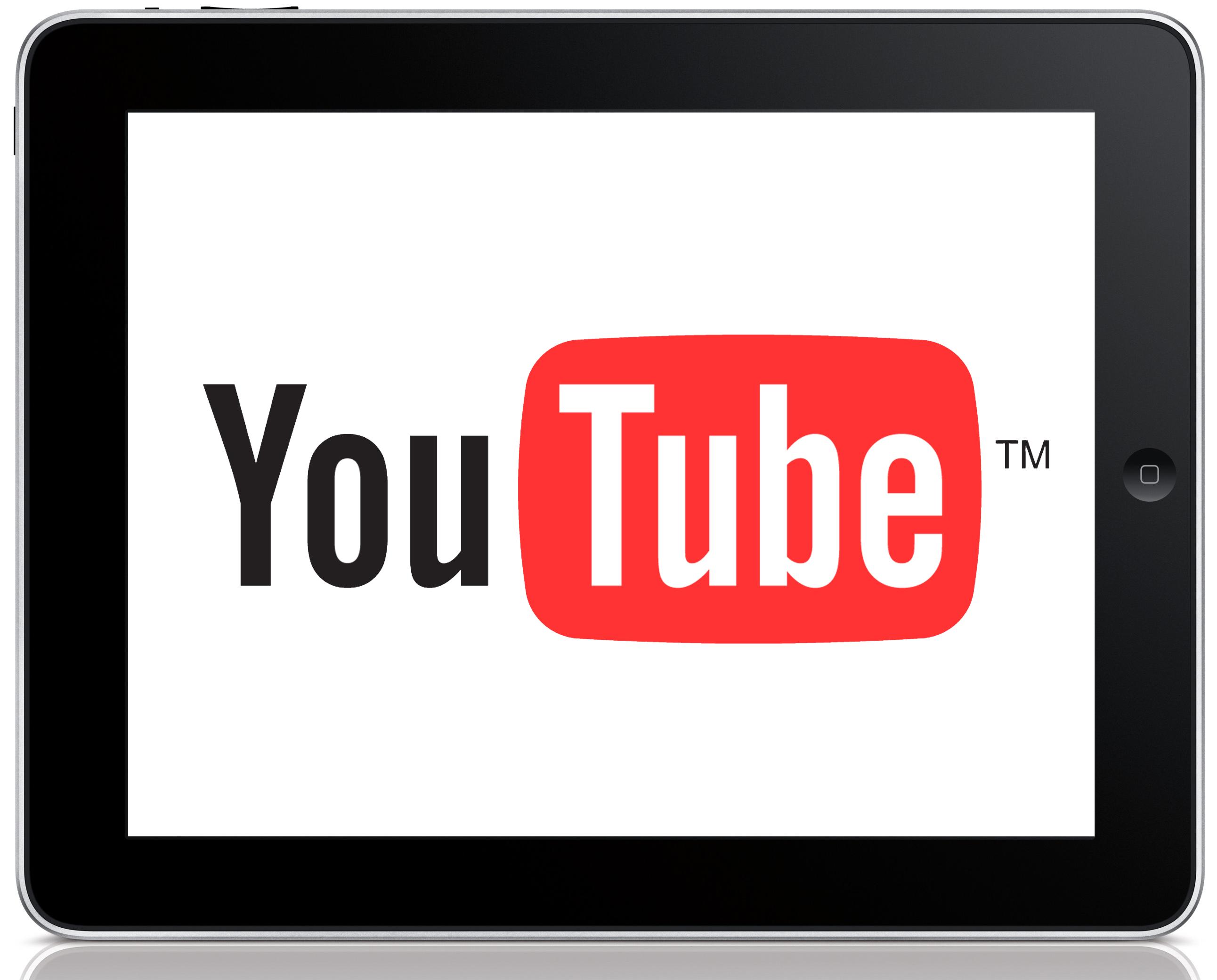 YouTube на iPad