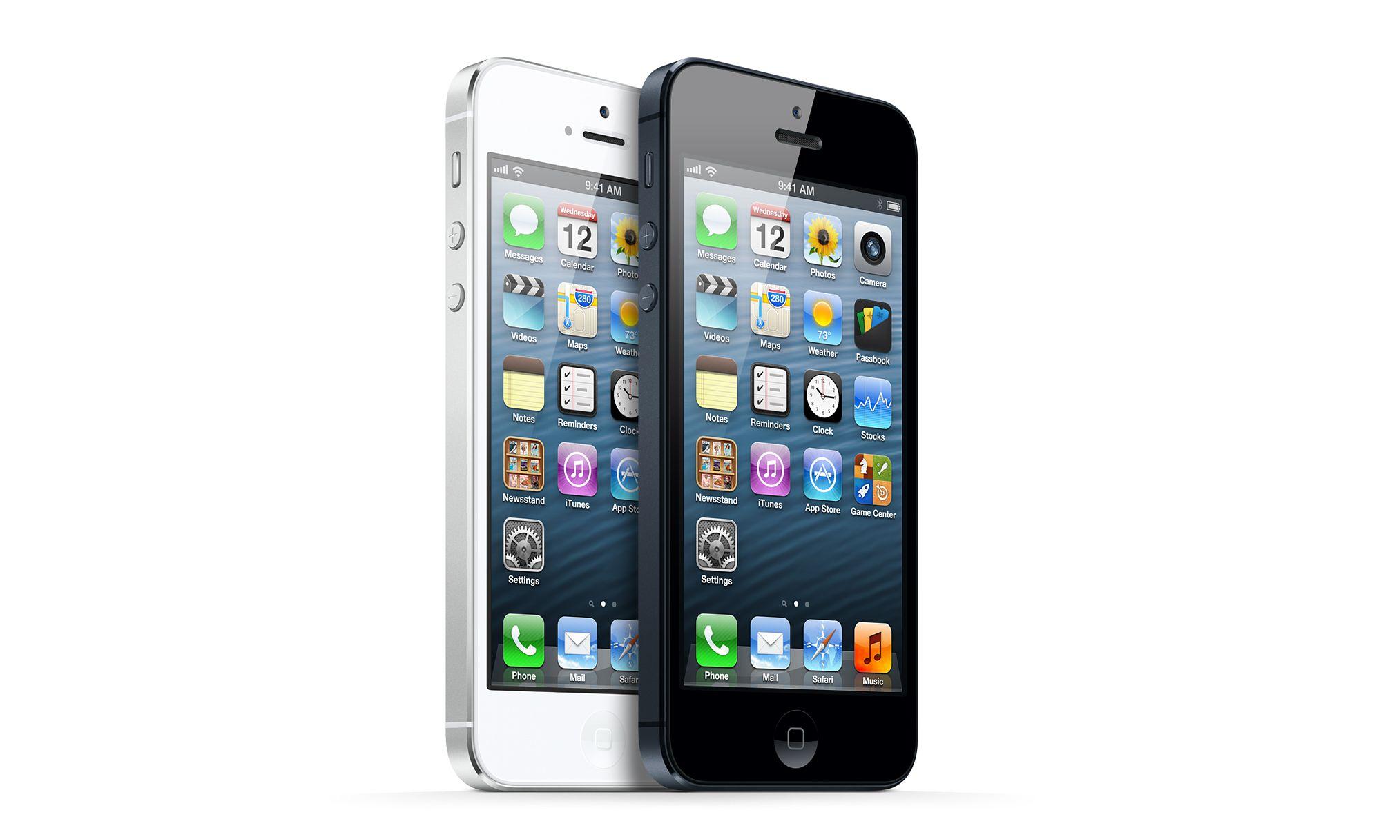 Черный или белый iPhone 5