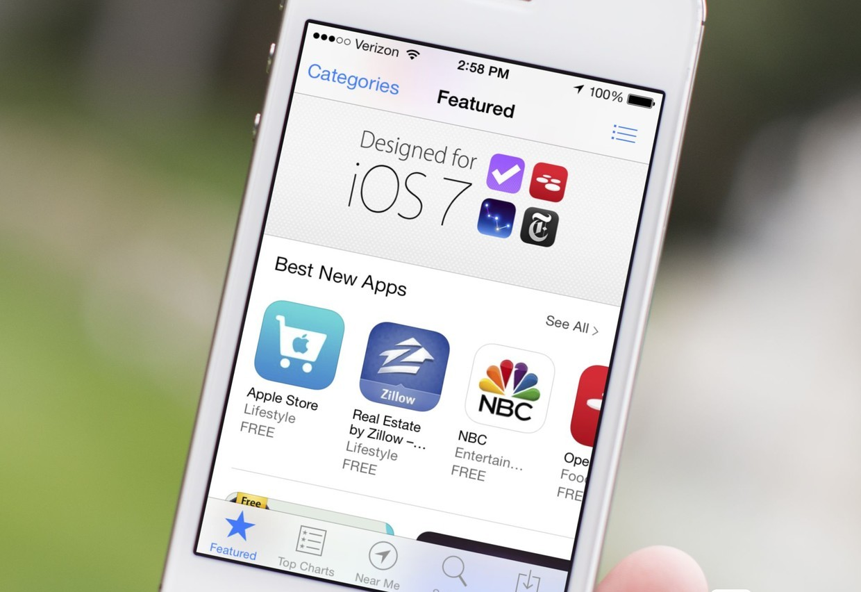 AppStore в iOS 7