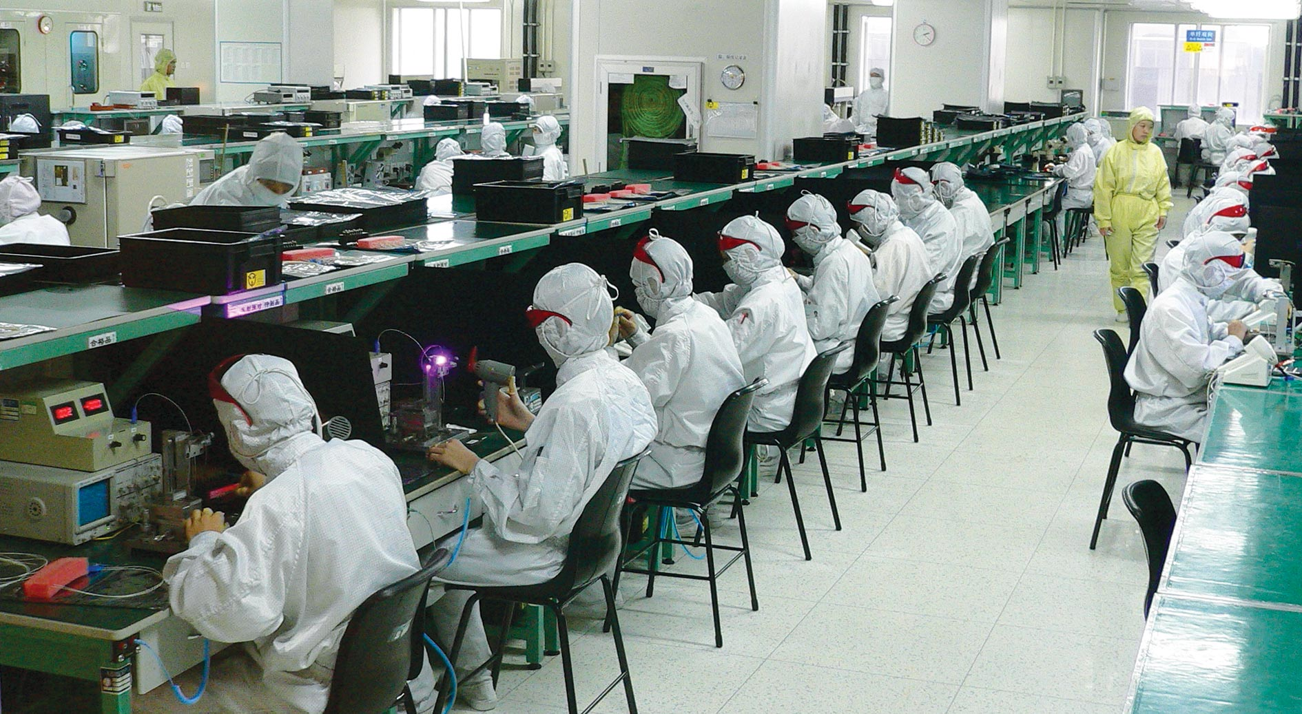 Фабрика Quanta Computer