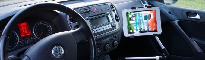 iPad в автомобиле