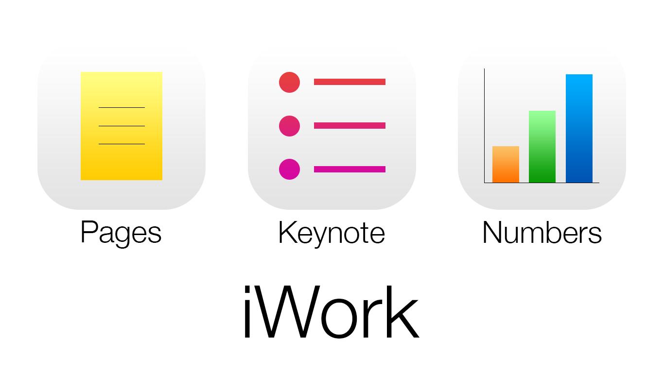 iWork для iOS и OS X