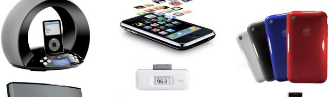 Аксессуары для мобильных устройств Apple