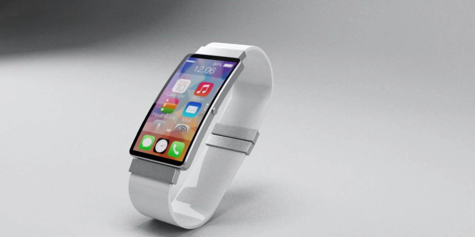 iWatch: смартфон-браслет с медицинскими датчиками