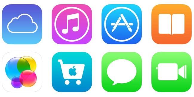 Иконки Apple ID