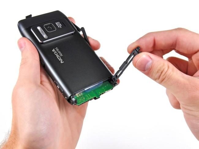 чистка телефона Nokia