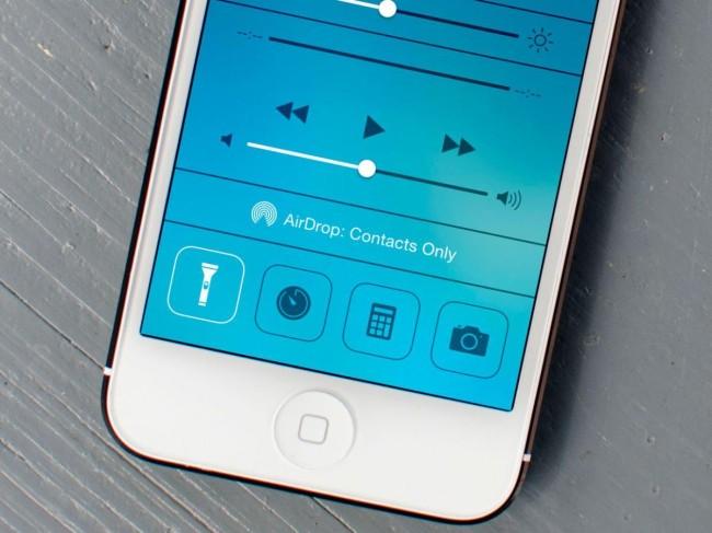 фонарик в iPod и iPhone