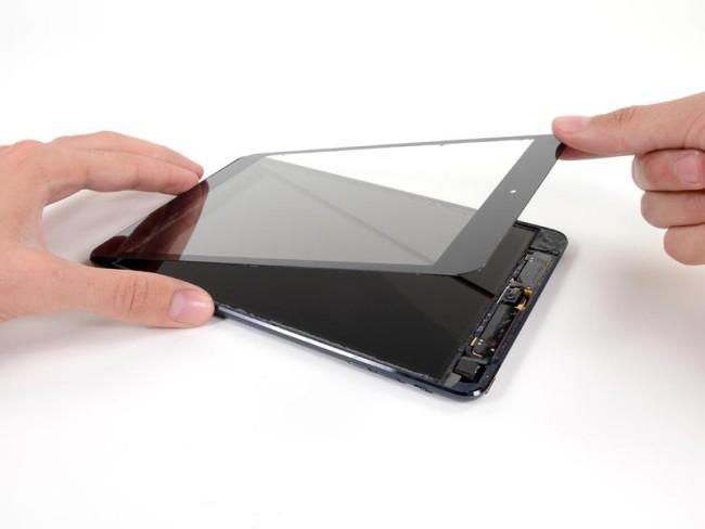 замена экрана в ipad