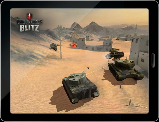 геимплей world of tanks blitz