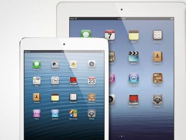Экран на iPad mini 3