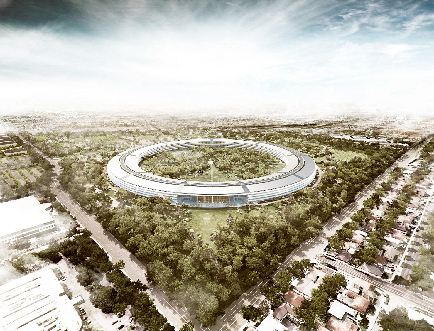 У Apple новый офис