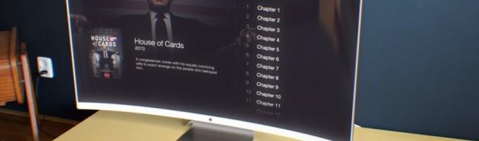 Концепт изогнутого телевизора Apple