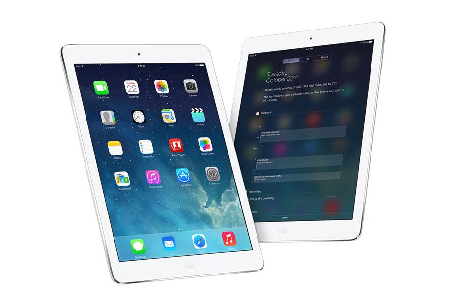 Новая палитра цветов для iPad Air