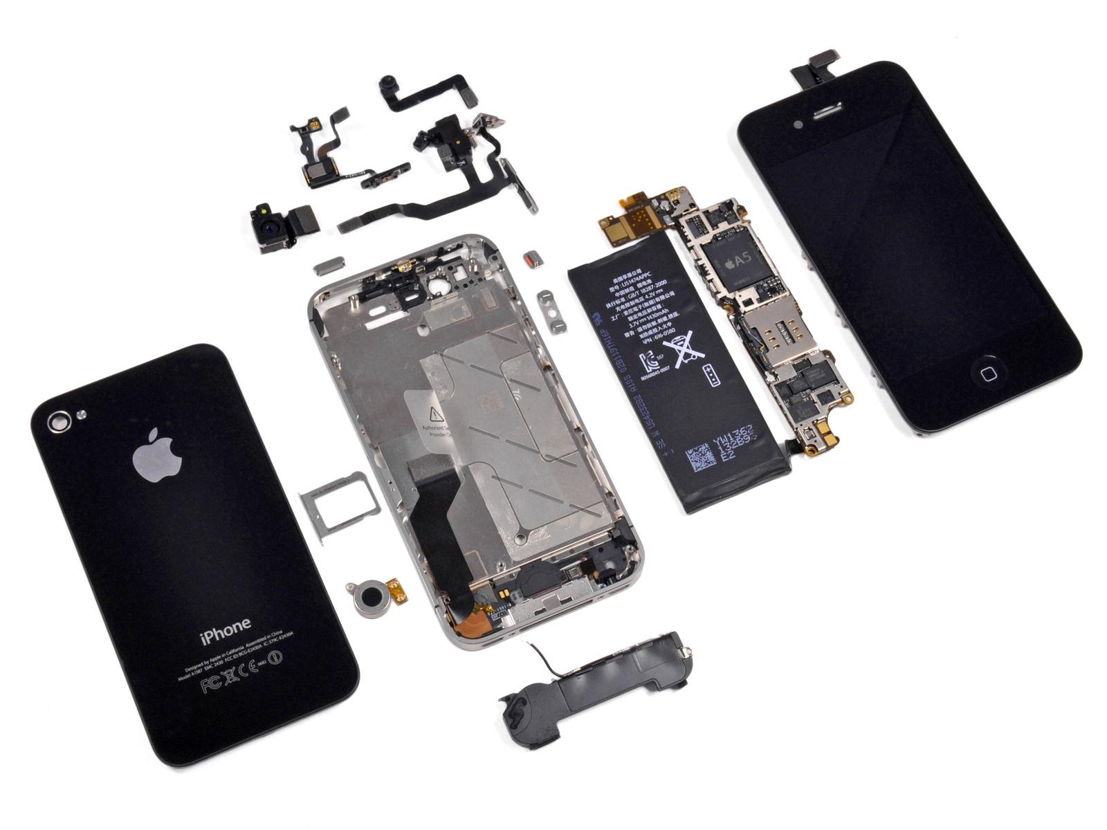 Особенности ремонта iPhone. Поломки и их устранение