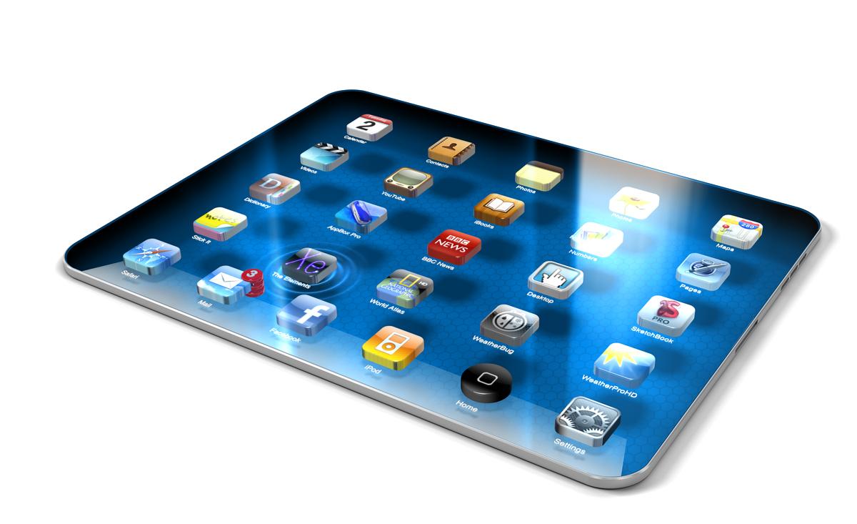 Концепт iPad будущего