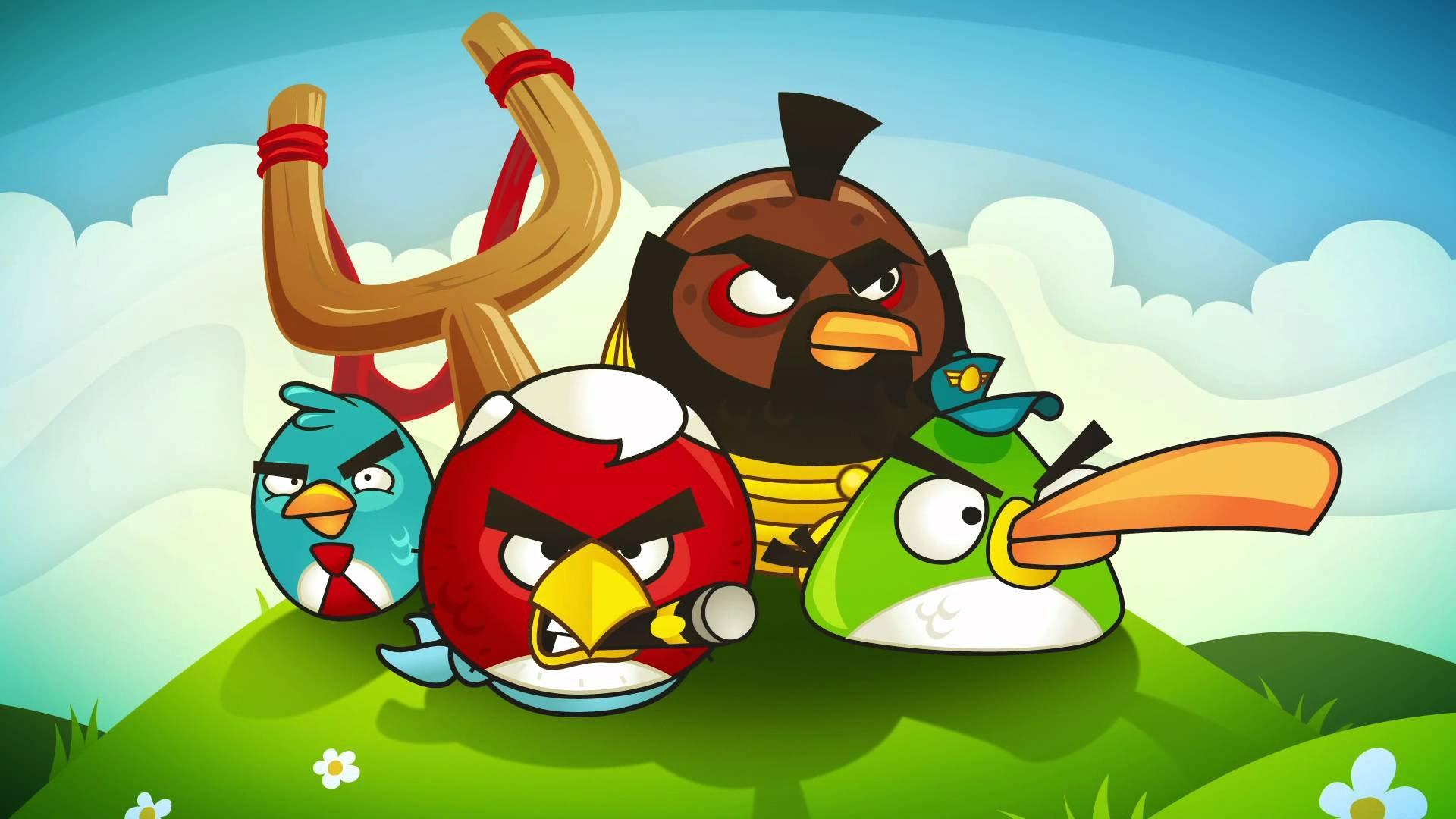 Серия Angry Birds