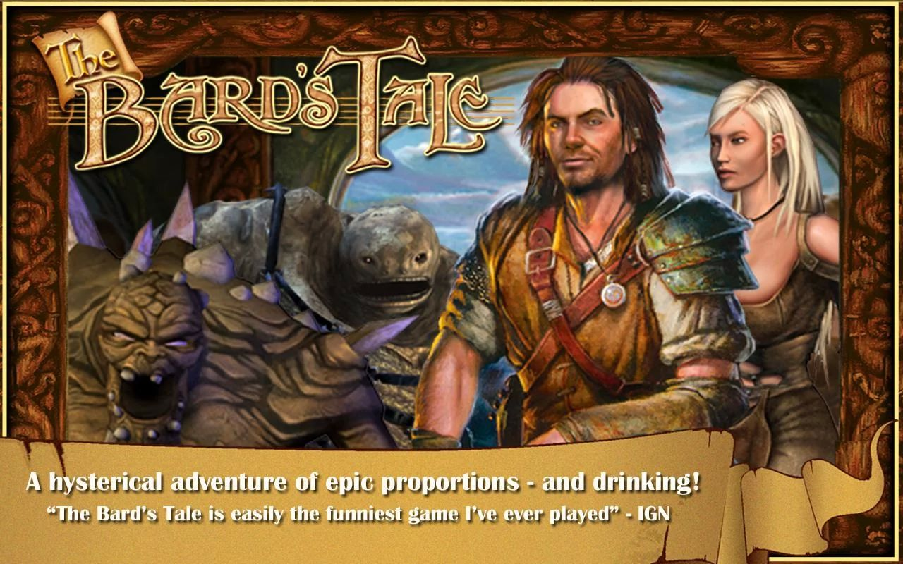 Игра The Bard`s Tale — уже совсем скоро!