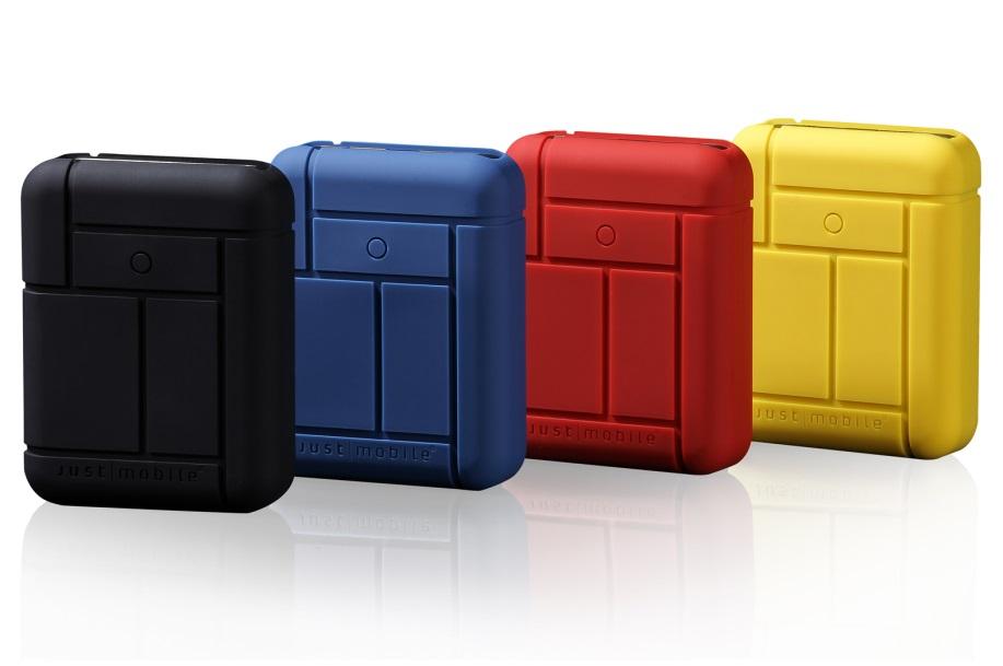 Удобная батарейка Just Mobile Gum Max для iУстройств