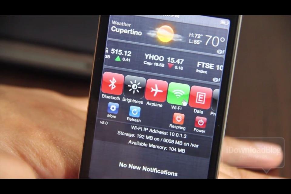 SBSettings уже работает на iOS 5
