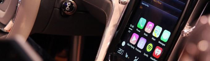 Система Apple CarPlay в автомобиле
