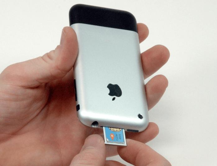 Сим-карта в IPhone