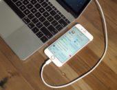 MacBook и iPhone