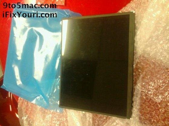 Дисплей iPad 2: первые фото
