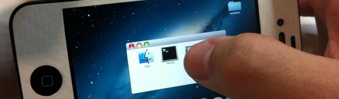 айфон 4 на OS X Lion