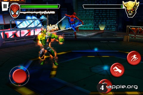 Spider-Man: Total Mayhem для iPhone, iPad и iPod Touch