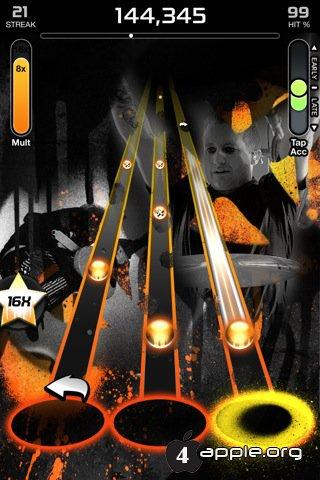 Tap Tap Revenge 4 сделали бесплатной!
