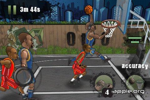 Streetball - стритбаскет для iPhone, iPad и iPod Touch