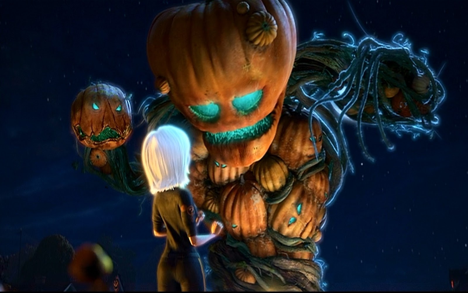 Pumpkins vs. Monsters