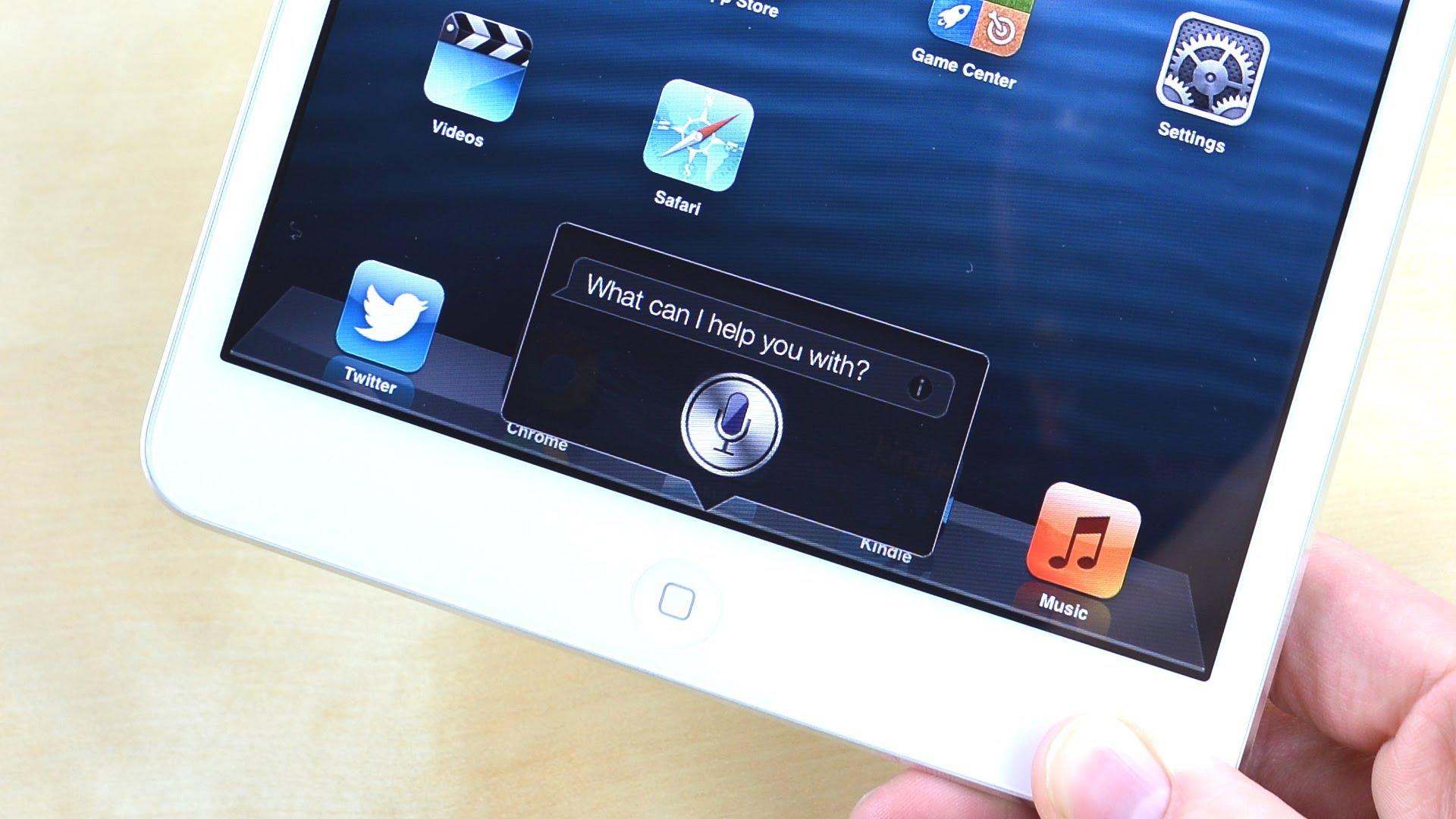 Siri на iPad