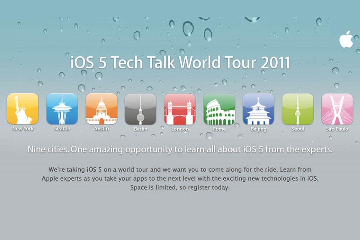 Tech Talk World Tour 2011