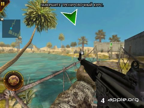 Игра Modern Combat: Sandstorm