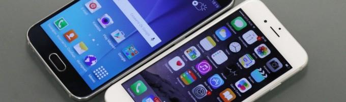 Сравнение смартфонов от Apple и Samsung