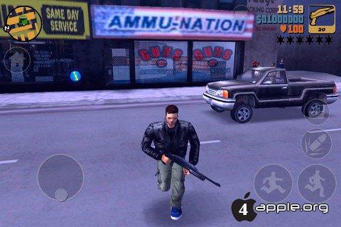 Обзор GTA 3 для iPhone
